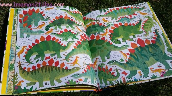 1maman2filles livres enfants cherche et trouve les dinosaures 2
