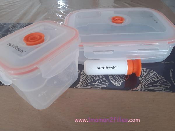 méthode d'organisation : boites mise sous vide