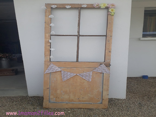 porte décorative mariage