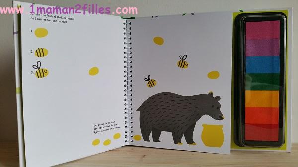 1maman2filles livre activité dessine avec tes doigts les animaux 2