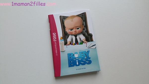1maman2filles livre enfant bibliothèque rose baby boss