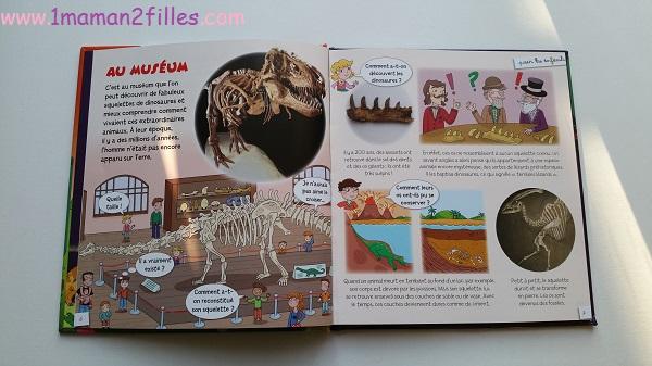 1maman2filles livres enfants collection pour les enfants fleurus les dinosaures 1