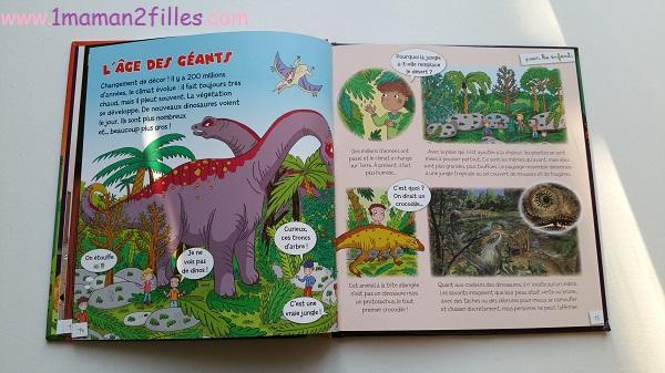 1maman2filles livres enfants collection pour les enfants fleurus les dinosaures 2