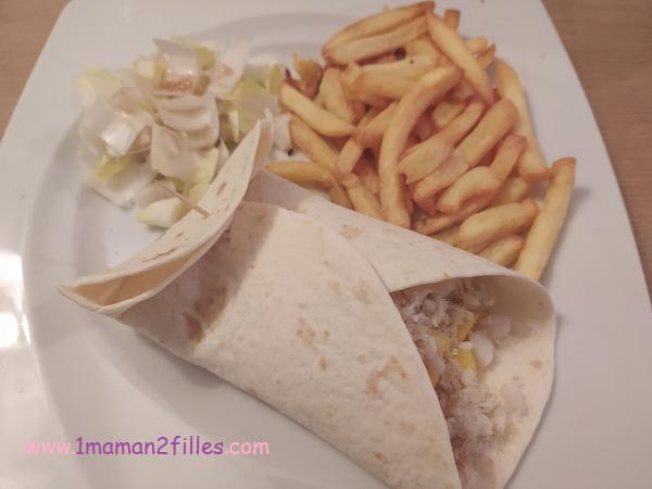 tacos fish & mango