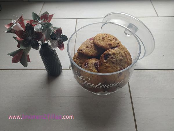 cookies framboise