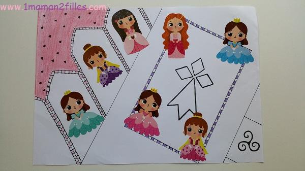 1maman2filles activités enfants bal des princesses