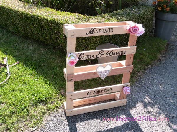palette décoration mariage