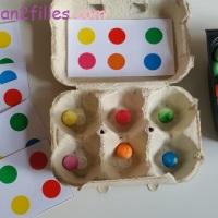 Activités autonomes diverses couleur, forme et autres