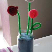 Un bouquet de roses pour maman