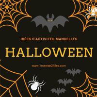 12 idées d'activités manuelles pour halloween de façon soft