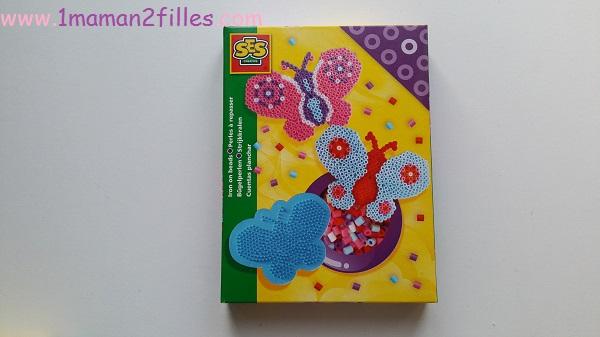 1maman2filles activité manuelle perles a repasser ses creative 5