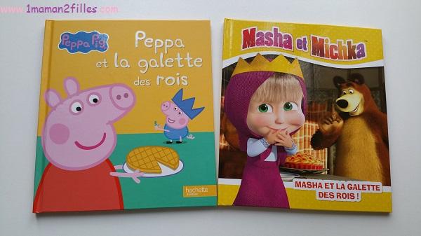 1maman2filles-livres-enfants-peppa-masha-et-michka-la-galette-des-rois