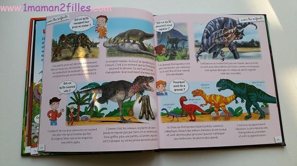 1maman2filles livres enfants collection pour les enfants fleurus les dinosaures 3
