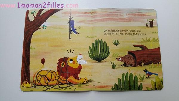 1maman2filles-livres-enfants-fables-de-la-fontaine lion