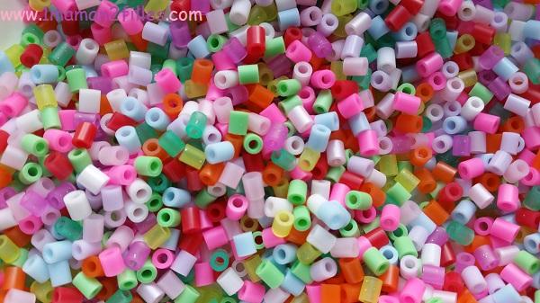 1maman2filles activités manuelles perles à repasser 2