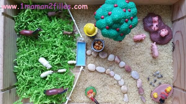 1maman2filles-liste d'activités manuelles enfants sensorielle