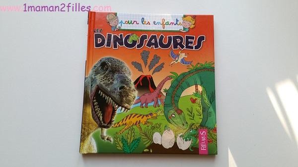 1maman2filles livres enfants collection pour les enfants fleurus les dinosaures