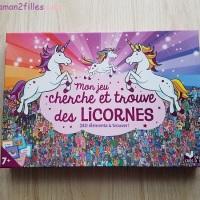 Mon jeucherche et trouve des licornes - 240 éléments à trouver