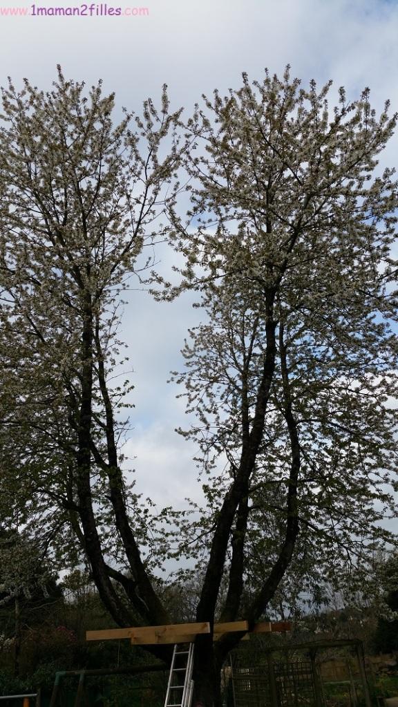 1maman2filles activités nature avec papa cabane dans les arbres