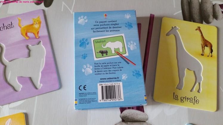 1maman2filles les-animaux-cartes-pochoirs1-livre-d-a