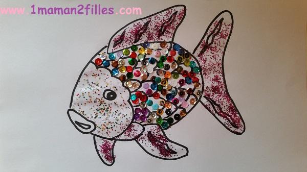 1maman2filles activité 1 poisson 1er avril