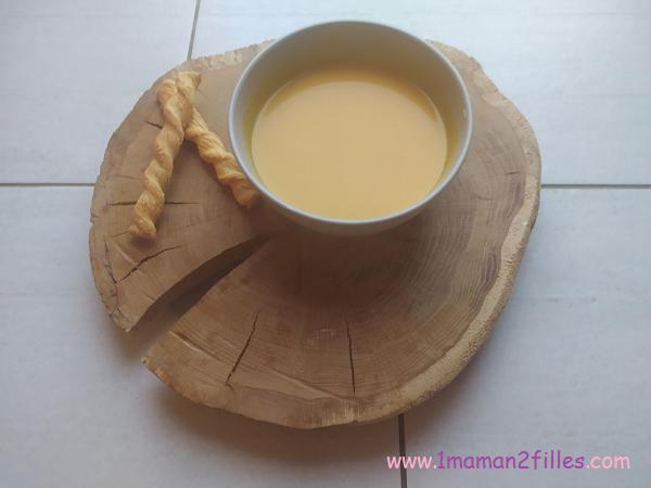 soupe butternut patate douce et coco