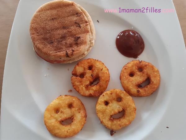 cuisiner pour faire plaisir : smileys patate et croque macdo