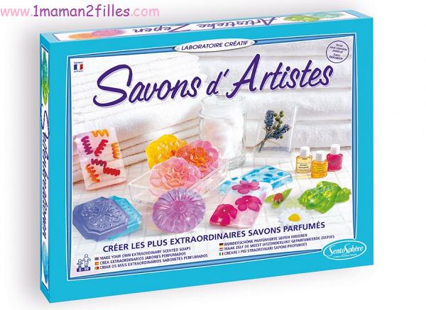 1maman2filles activités manuelles enfants savons d artistes sentosphere vivacrea