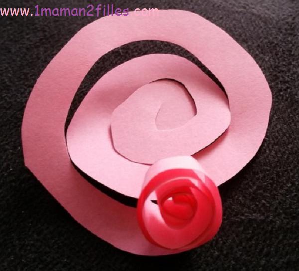 1maman2filles activité fleur fête des mères 2