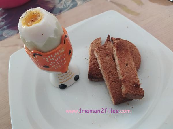 œuf de cane à la coque