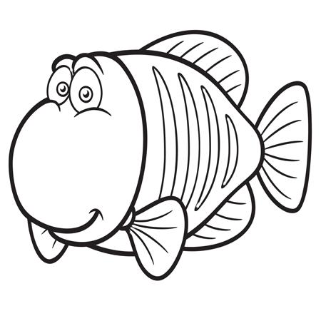 1maman2filles coloriage poisson 4