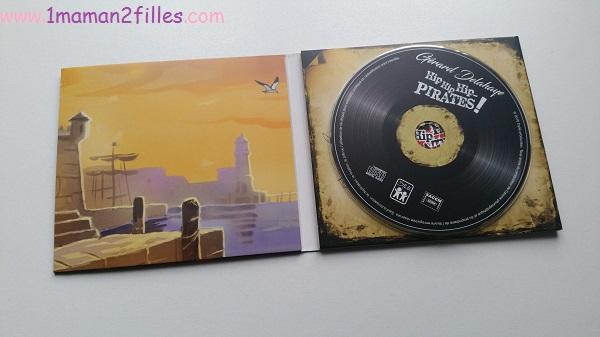 1maman2filles CD hip hip hip pirates l'or